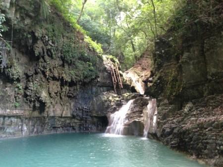 27 vízesés Damajaqua Puerto Platánál
