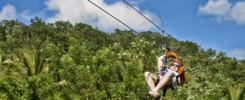 zipline Dominikánska republika