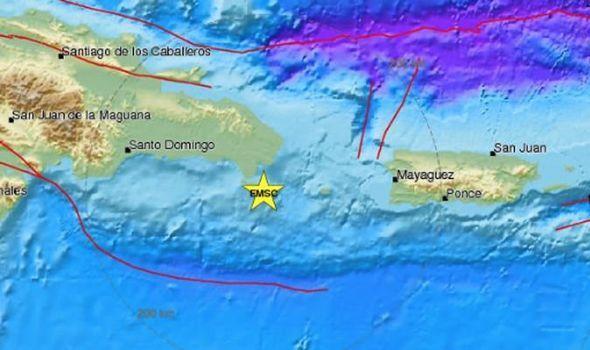 Zemetrasenie v Dominikách