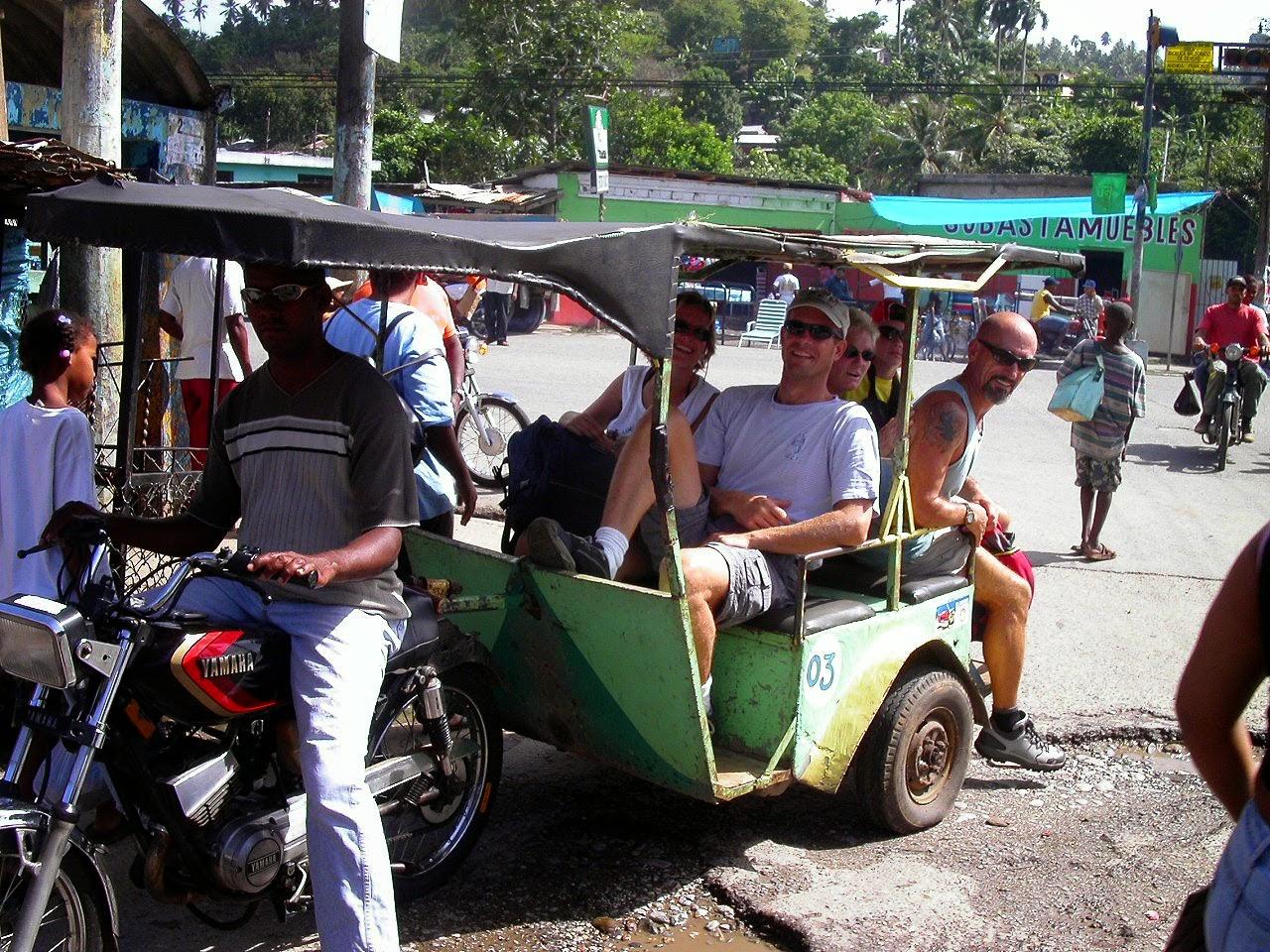 dominikai közlekedés